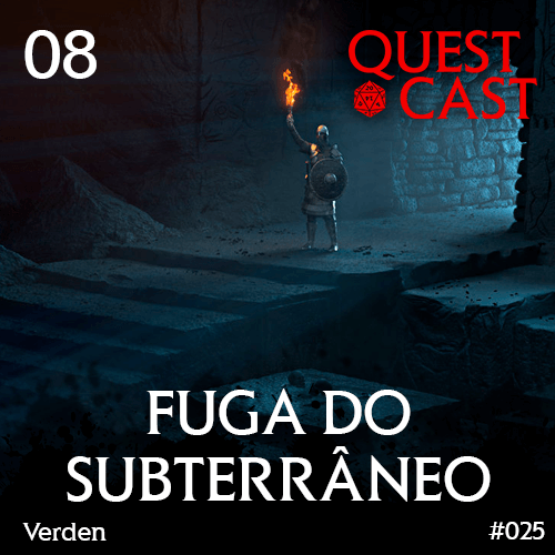 capa fuga-do-subterrâneo-quest-cast-podcast-rpg