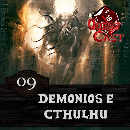 capa demonios-e-cthulhu