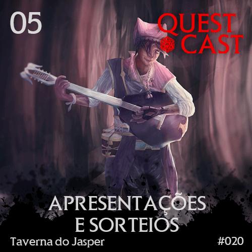 capa apresentações-e-sorteio-taverna-do-jasper-questcast