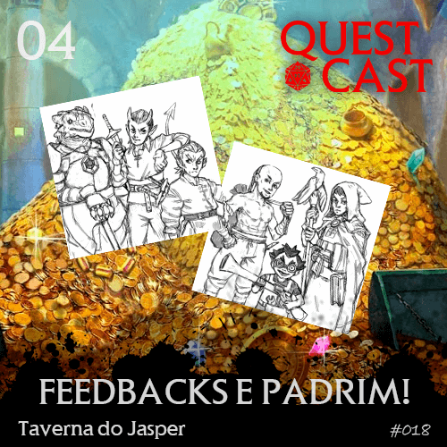 capa feedbacks-e-padrim-taverna-do-jasper-quest-cast-rpg