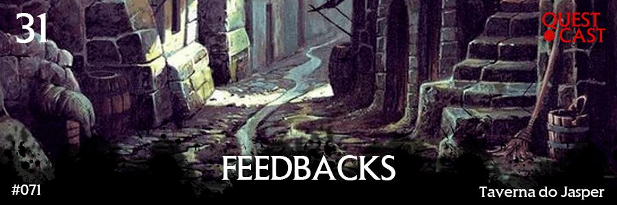 Quest Cast feedbacks taverna do jasper